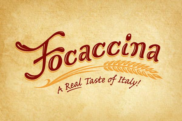 Focaccina logo design
