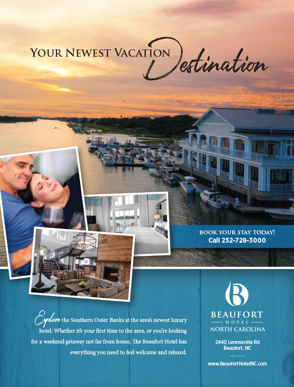 Beaufort Hotel Ad Design
