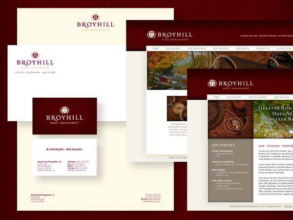 Broyhill Branding & Identity