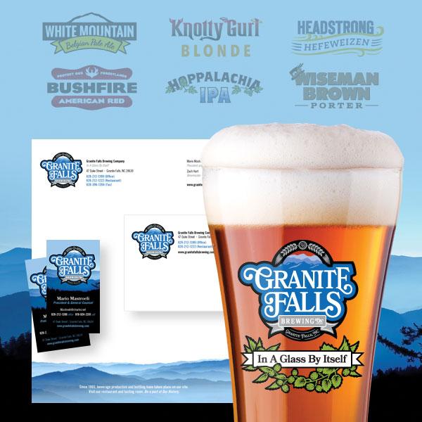 Granite Falls Brewery Branding