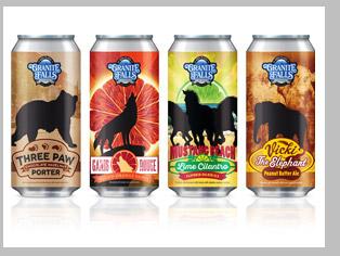 craft beer label design