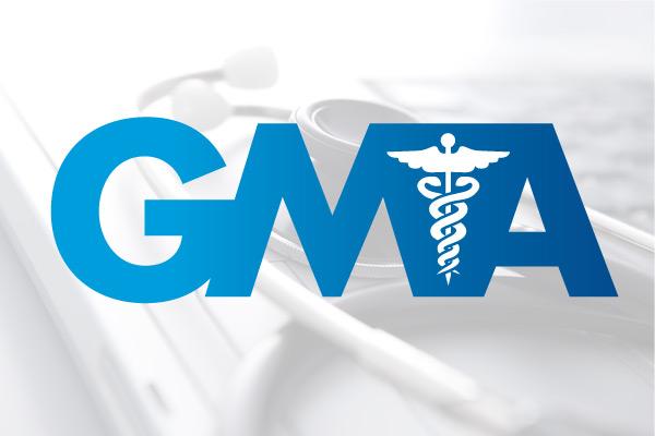GMA Healthcare Logo Design