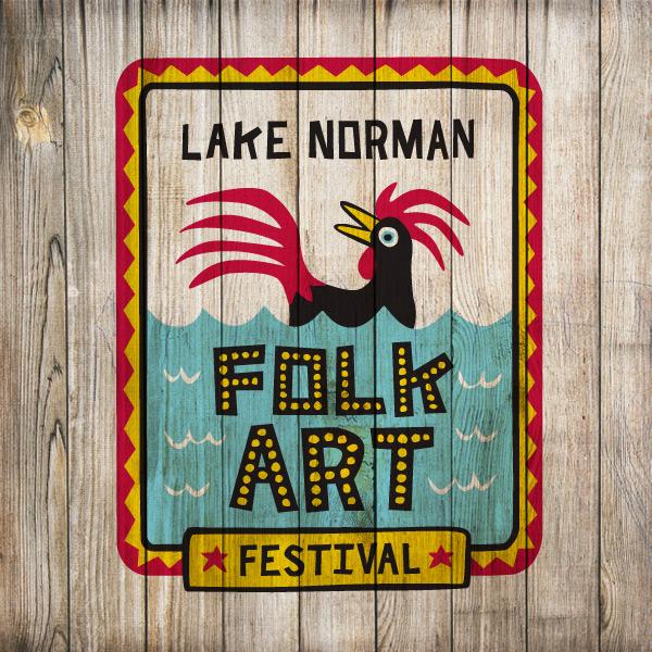 Lake Norman Folk Art Logo