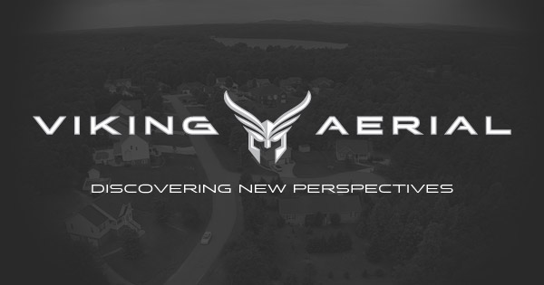 Viking Aerial Photography Logo Design