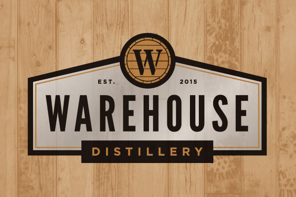 Warehouse Distillery Logo Design