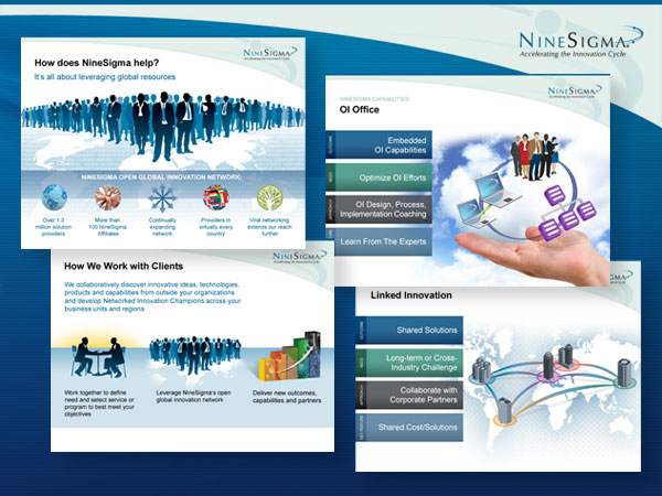 NineSigma Powerpoint Design