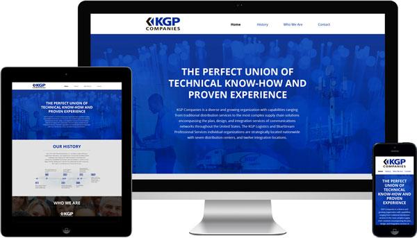 KGP Companies Responsive Website