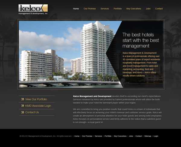 Kelco Website Design