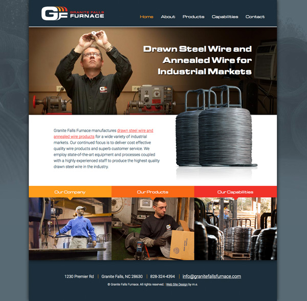 Granite Falls Furnace Website Design