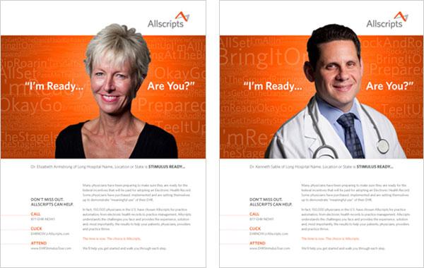 Allscripts Ad Campaign