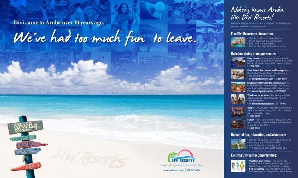 Divi Resorts Spread Ad