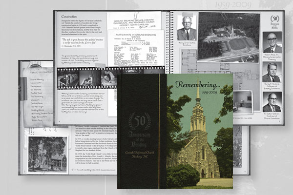 Corinth Brochure Design