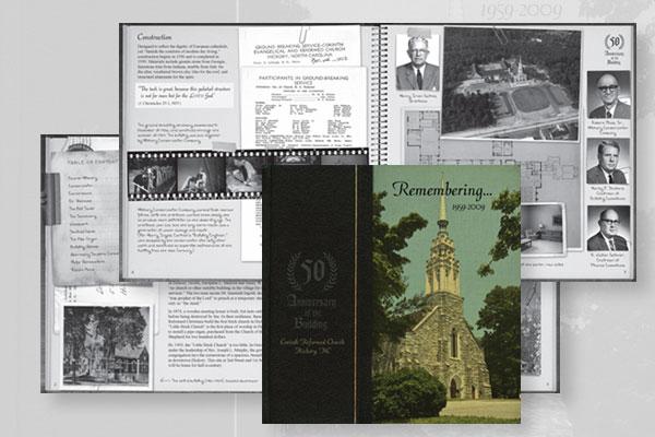Corinth Brochure Design