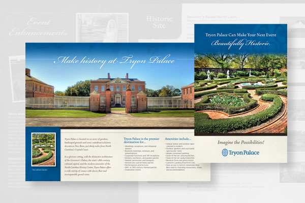 Tryon Palace Brochure