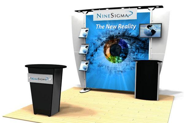 NineSigma Tradeshow Booth