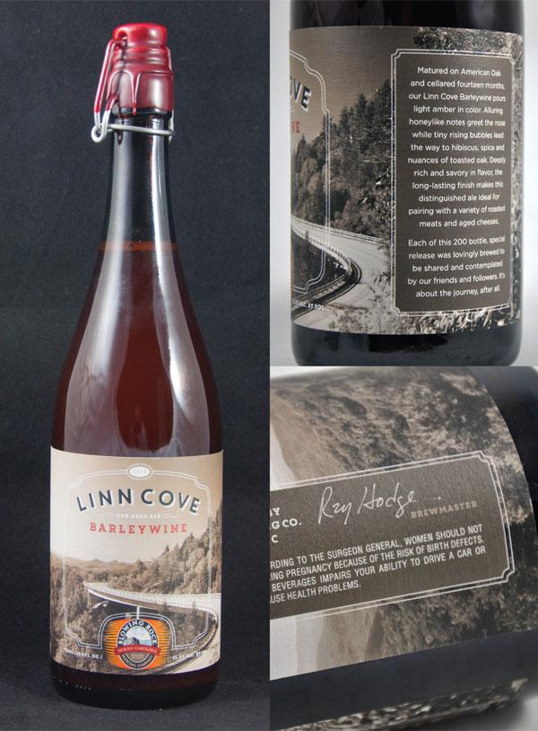 Blowing Rock Brewing Label Design