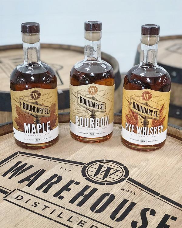 Distillery Bottle Label Design