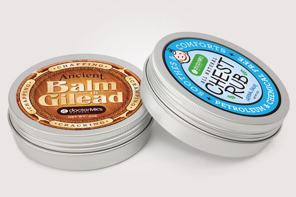 Balm Label Design