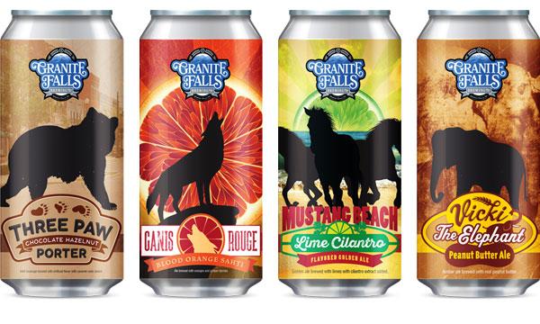 Craft Beer Label Design - Carolina Wild