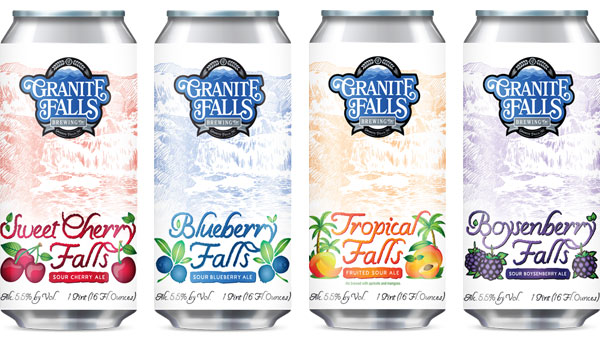 Craft Beer Label Design - Harvest Sours