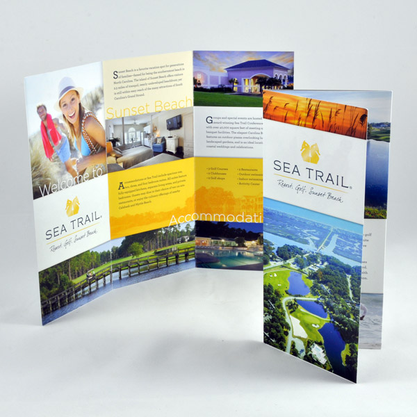 Sea Trail Resort Brochure Design